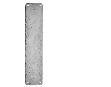 Carlisle Brass Ludlow Foundries Push Plate (315mm x 65mm), Pewter Finish - PE55101