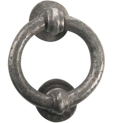 Frelan 'Ring' Door Knockers, Pewter Effect - PEW7 None