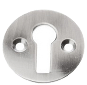 Standard Profile Open Escutcheon, Pewter Finish - PF104