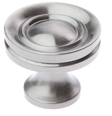 Prima Stepped Cupboard Knobs (25mm, 32mm Or 38mm), Pewter Finish - PF1301 None