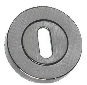Standard Profile Open Escutcheon, Pewter Finish - PF1321