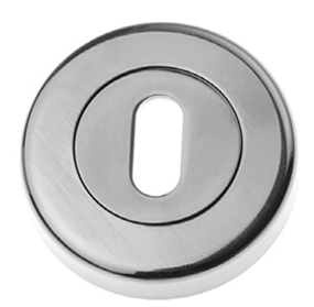 Prima Standard Profile Open Escutcheon, Pewter Finish - PF1321