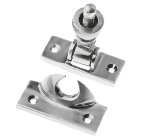 Prima Brighton Sash Window Fastener (57mm x 25mm), Pewter Finish - PF135