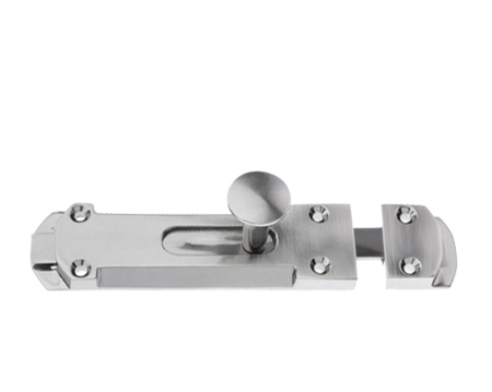 Victorian 'Surface' Door Bolts, Pewter - PF240