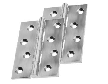 Prima Phosphor Bronze Washered Hinges, Various Sizes, Pewter Finish - PF5