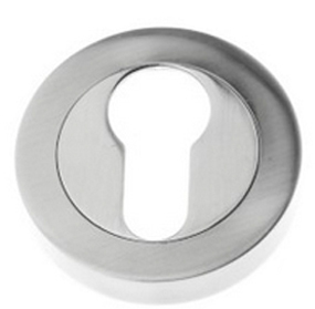 Prima Euro Profile Open Escutcheon, Pewter Finish - PF591
