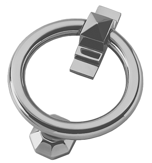Prima 'Ring' Door Knocker, Pewter Finish - PF779 None