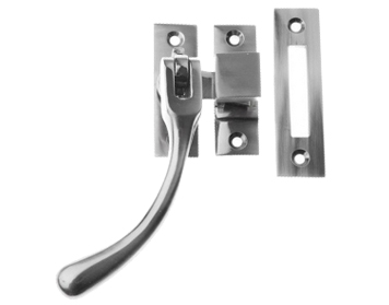 Prima Pear Drop Reversible Casement Window Fastener, Pewter - PF879