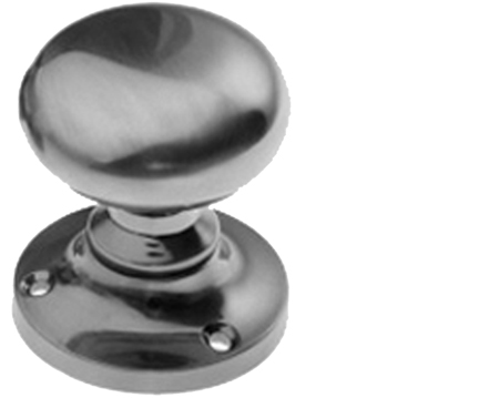 Genial Prima U0027Mushroomu0027 Mortice Knob, Pewter Finish   PF92