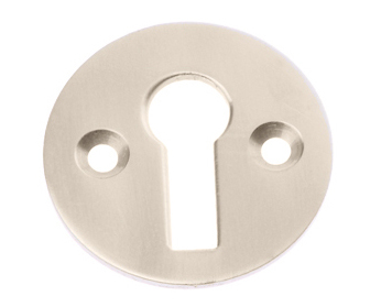 Prima Standard Profile Open Escutcheon, Polished Nickel - PN104