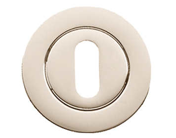 Prima 'Standard Profile' Escutcheon, Polished Nickel - PN1322