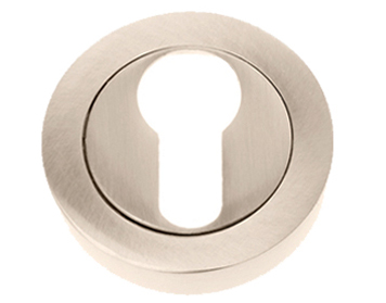 Prima 'Euro Profile' Escutcheon, Polished Nickel - PN1405