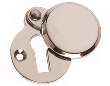 Prima 'Heavy' Covered Standard Profile Escutcheon, Polished Nickel - PN624
