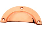 Prima Traditional Cup Handles (93mm x 43mm), Rose Copper - RC159