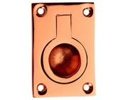 Prima Rectangular Flush Ring (54mm x 38mm OR 67mm x 50mm), Rose Copper - RC160