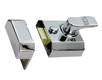 Eurospec Contract Rim Cylinder Nightlatch, Lockcase Only, 40mm Or 60mm Backset, Various Finishes - RCN82L