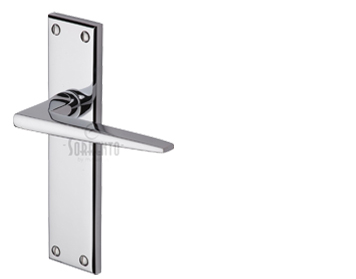 Sorrento Swift Door Handles, Polished Chrome - SC-3400-PC (sold in pairs)