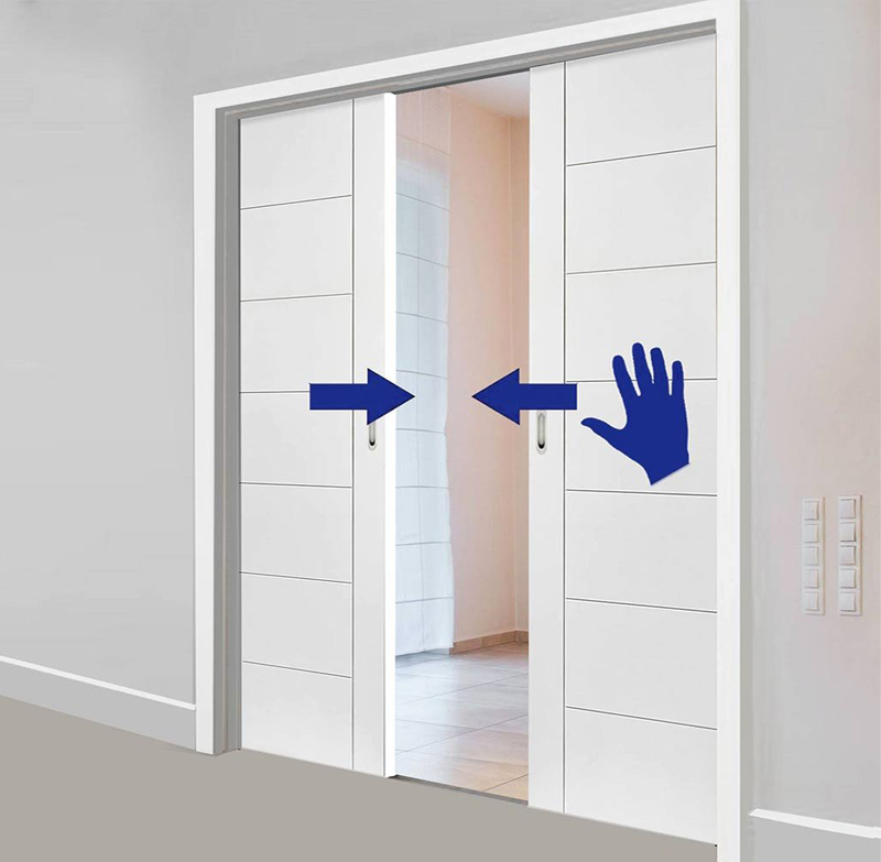 Beau Excel Scrigno Simultaneous Opening U0026 Closing System Kit (Double Doors Only)    SC91003 None