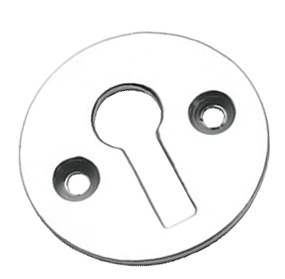 Prima Standard Profile Open Escutcheon, Satin Chrome - SCP104