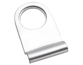 Prima Round Top Cylinder Pull, Satin Chrome - SCP106