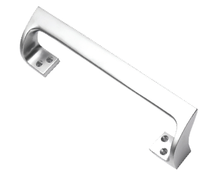 Prima Cranked Pull Handle (229mm Or 311mm), Satin Chrome - SCP115