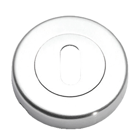 Prima 'Standard Profile' Escutcheon, Satin Chrome - SCP1322