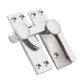Prima Quadrant Sash Window Fastener (67mm), Satin Chrome - SCP133