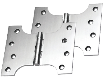 Prima Parliament Hinges (4, 5 OR 6 Inch), Satin Chrome - SCP234 (sold in pairs)