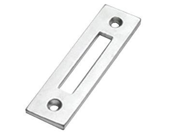 Prima Mortice Plate For Casement Fasteners, Satin Chrome - SCP288