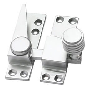 Prima Bee Hive Quadrant Fastener, Satin Chrome - SCP475