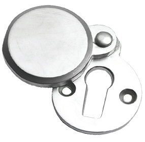 Prima 'Heavy Covered' Standard Profile Escutcheon, Satin Chrome - SCP624