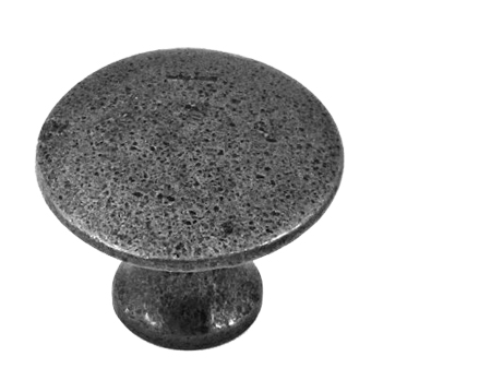 Stonebridge 'Ashton' Cabinet Knob (30mm), Forged Steel - SI-K-ASH-901