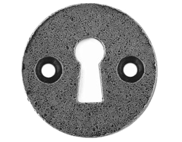 Stonebridge 'Standard Profile' Round Escutcheon, Forged Steel - SI-ESC-R-713