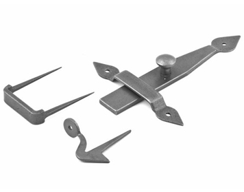 Stonebridge Arrow Head Latch Set, Forged Steel - SI-LS-AH-710