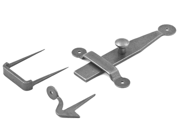 Stonebridge Penny End Latch Set, Forged Steel - SI-LS-PE-709