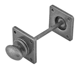 Stonebridge Square Bathroom Thumbturn & Release, Forged Steel - SI-PTR-S-701
