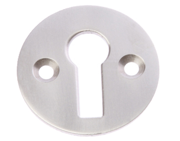 Prima Standard Profile Open Escutcheon, Satin Nickel - SN104