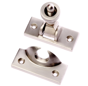 Prima Brighton Sash Window Fastener (57mm x 25mm), Satin Nickel - SN135
