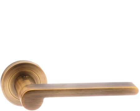Atlantic Senza Pari 'Darrio' Weathered Antique Bronze Door Handles -  SPM-218- - Antique Brass And Bronze Door Handles From Door Handle Company