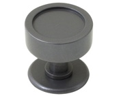 Stonebridge Taunton Centre Door Knob, Armor-Coat Satin Steel - SS703