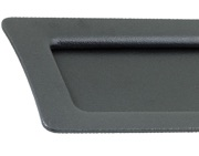 Stonebridge External Letter Plate, Armor-Coat Satin Steel - SS704