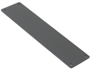 Stonebridge Internal Push Plate, Armor-Coat Satin Steel - SS707