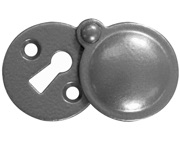 Stonebridge Standard Profile Round Escutcheon With Cover, Armour-Coat Satin Steel - SS714