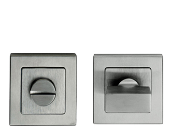 Eurospec Square Turn & Release, Satin Stainless Steel Or Duo Polished & Satin Finish - SST1415