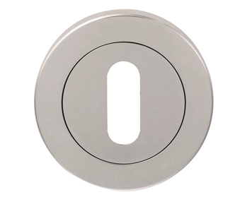 Eurospec Standard Profile Escutcheon, Polished OR Satin Stainless Steel - SW103