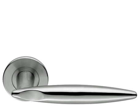 KLOSTERS, SATIN STAINLESS STEEL DOOR HANDLES - SW17SSS (sold in pairs)