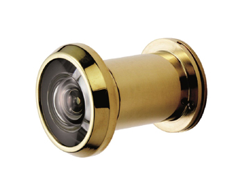 Eurospec 200 Degree Door Viewers, Polished Stainless Steel, Satin Stainless Steel Or PVD Stainless Brass - SWE1010