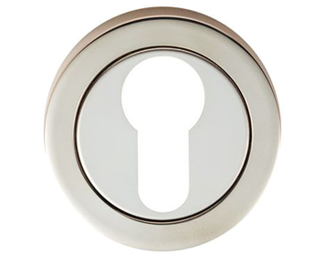Eurospec Euro Profile Escutcheon, Polished Stainless Steel - SWL102BSS