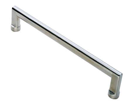 Eurospec Carlton Pull Handles (Various Sizes), Satin Stainless Steel - SWP1134