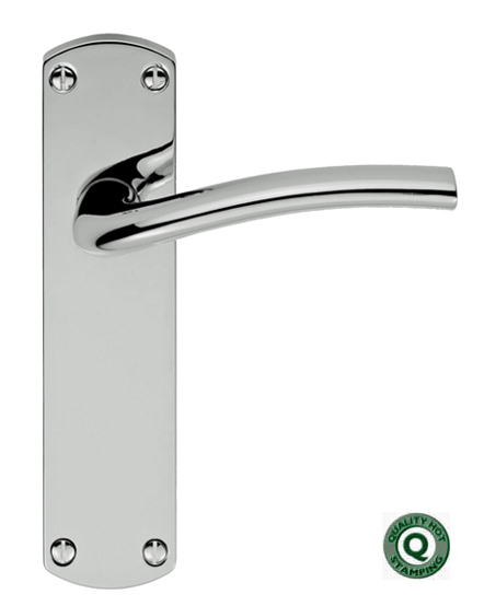39 serozzetta cuatro 39 polished chrome or satin chrome door for Door handle company